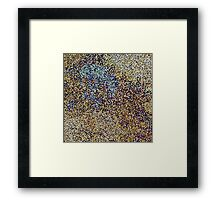Pixel Composition Framed Print