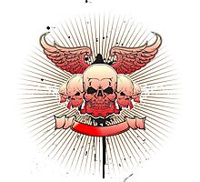 Band of Skulls Photographic Print