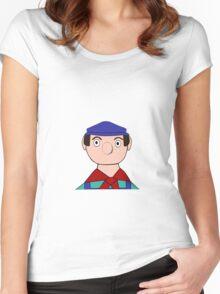 Mr Crockett the Garage Owner Women's Fitted Scoop T-Shirt
