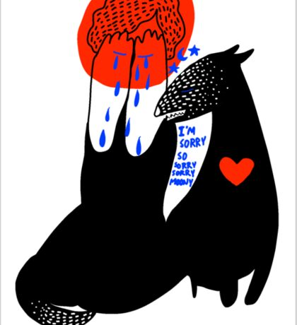 wolfstar Sticker