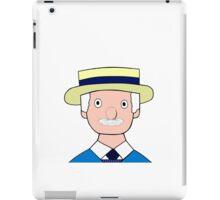 Mr Carraway the Fishmonger iPad Case/Skin