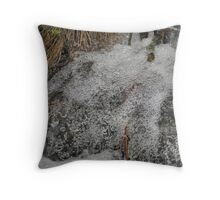 Carbonated Nature Throw Pillow