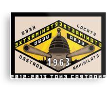 Battleship Dalek 1963 Metal Print