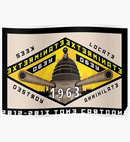 Battleship Dalek 1963 Poster