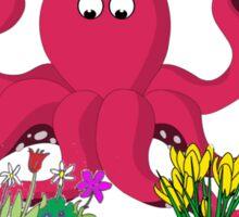 Octopus's Garden Sticker