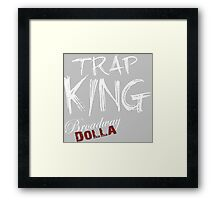 Trap King Framed Print