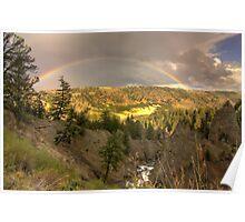 Yellowstone Rainbow Poster
