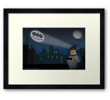 Don't forget the Batphone Framed Print