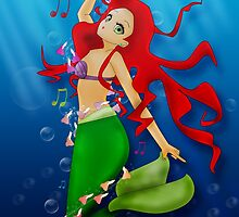 Ariel: Under the Sea by LARiozzi