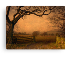 Wycoller Country Park Canvas Print