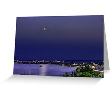 Super Moon Above Syracuse, NY Greeting Card