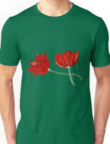 Tulips with Love, Happy Together  Unisex T-Shirt