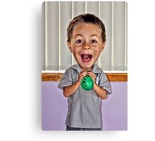 Isn't The Balloon Supposed To Get Bigger??? Canvas Print