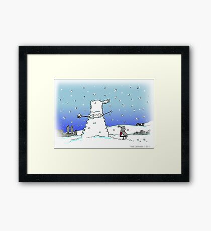 Snow Globes Framed Print