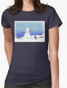 Snow Globes Womens Fitted T-Shirt