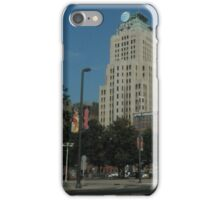 Cleveland Area, East 9th Street iPhone Case/Skin