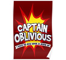 Captain Oblivious Poster