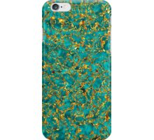 Azure Stone in Golden Lace iPhone Case/Skin