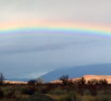 Owens Valley Rainbow by Nolan Nitschke