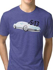 Classic Two Tone S13 - Halftone Tri-blend T-Shirt