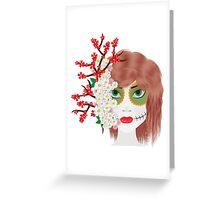Flowergirl! Greeting Card