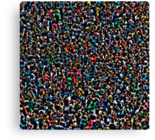 All of my people - Sound Relief Canvas Print