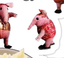 Clangers and Mash Sticker