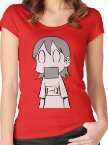 Nichijou Ehh? Women's Fitted Scoop T-Shirt