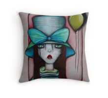 Art by ANGIECLEMENTINE Throw Pillow