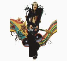 Brian Eno Roxy Music T-Shirt by lamusica