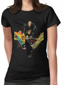 Brian Eno Roxy Music T-Shirt Womens Fitted T-Shirt