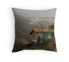 Indian roads Throw Pillow