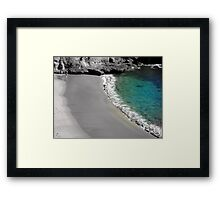 """You're So Smooth!"" Framed Print"