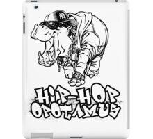 Hip Hop Opotamus iPad Case/Skin