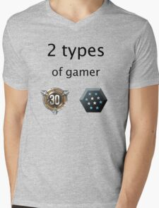 Cod vs Halo Mens V-Neck T-Shirt