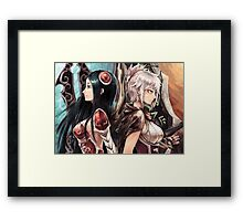 Katarina and riven fan art Framed Print
