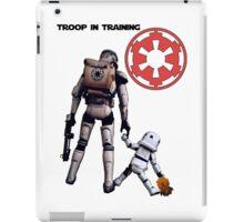 Troop in training  iPad Case/Skin