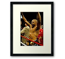 Roy wins 9th title Framed Print