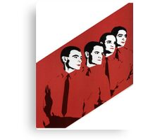 Kraftwerk Man Machine T-Shirt Canvas Print