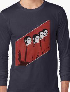 Kraftwerk Man Machine T-Shirt Long Sleeve T-Shirt