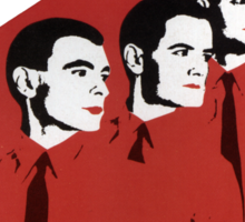 Kraftwerk Man Machine T-Shirt Sticker