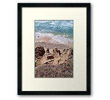 Shadmoor Cliffs Framed Print