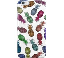 Hawaiian Pineapple Watercolor Pattern iPhone Case/Skin