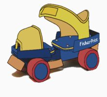 Fisher Price Rollerskate by Grainwavez
