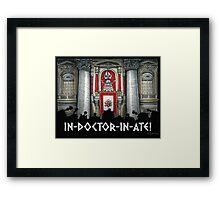 Dalek Pope XVII Framed Print