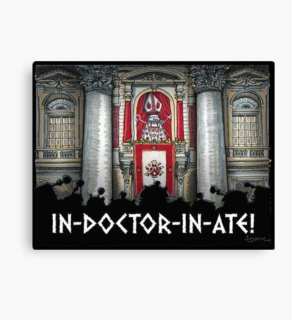 Dalek Pope XVII Canvas Print