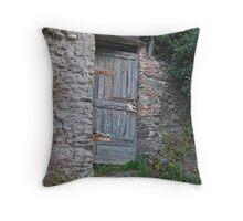 Vernazza Hillside Throw Pillow