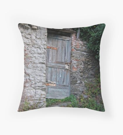 Vernazza Hillside Throw Pillow