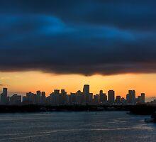 Miami Sunset by Tomas Abreu