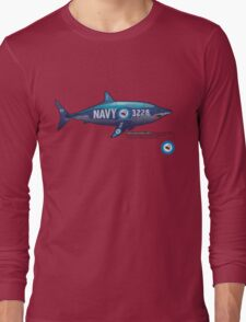 Is it a plane? Is it a fish?  Long Sleeve T-Shirt